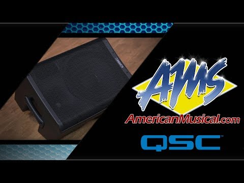 QSC CP8 Portable Loudspeaker - American Musical Supply