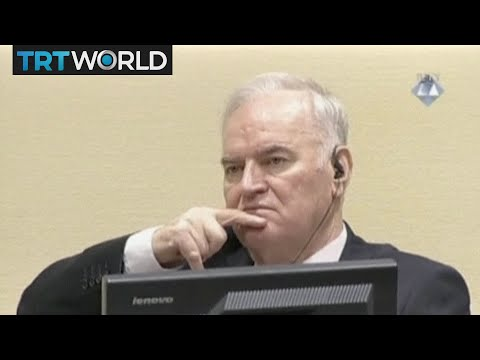 The moment Ratko Mladic was found guilty of genocide