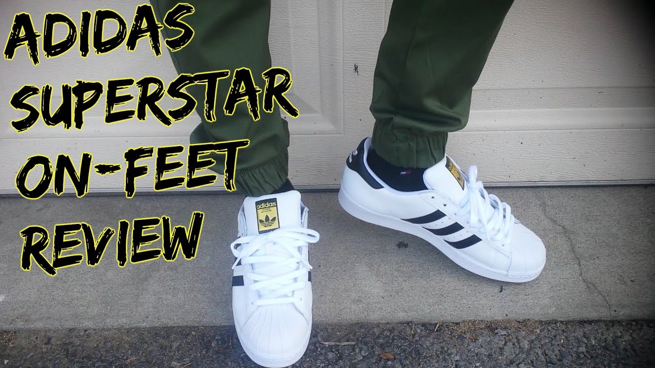 adidas superstar originali su piedi revisione su youtube