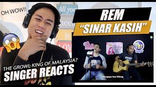 Rem - Sinar Kasih LIVE   SINGER REACTION