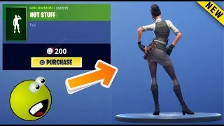 HOT STUFF EMOTE With Rook, Hunter, Zoey, Sun Strider | Fortnite New Emote