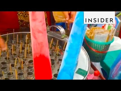 Enjoy Colorful Popsicles at the Chatuchak Weekend Market
