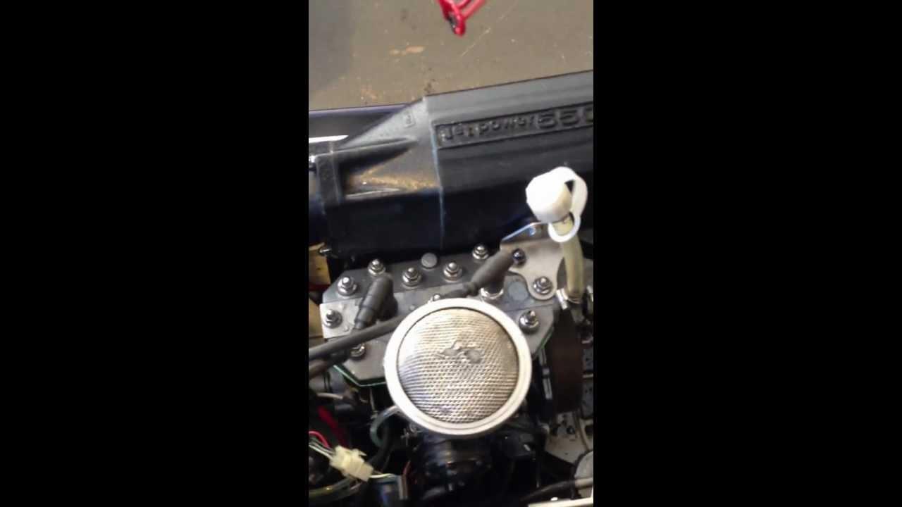 300/440/550 - 550 backfiring through carb  VIDEO ATTACHED