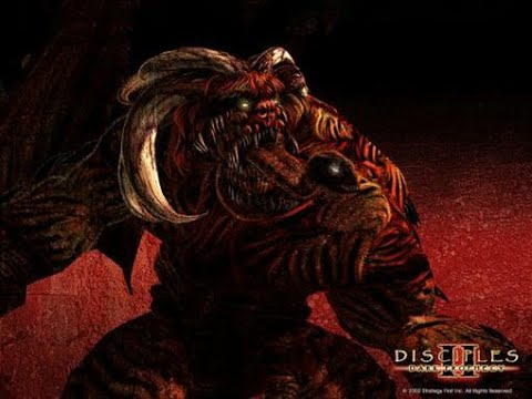"""Disciples 2 - Прохождение сценария """"Сила скверны"""", Демоны/Глава Гильдии воров (оч.сложный уровень)"""