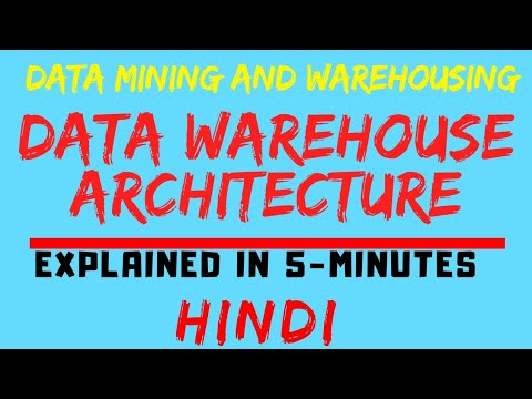 Data Warehouse Architecture In Data Mining And Warehousing Explained In Hindi