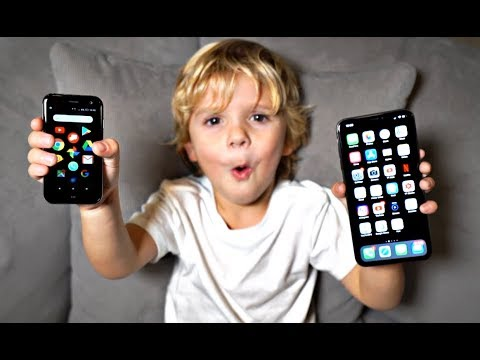 We Bought Tydus A Mini iPhone!!
