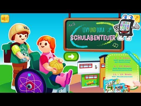 PLAYMOBIL SCHULABENTEUER Spiel Deutsch | Livy + Luka Entdecken Mit Nina Die Neue Playmobil Schule