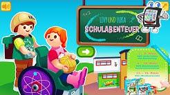 PLAYMOBIL SCHULABENTEUER Spiel deutsch   Livy + Luka entdecken mit Nina die neue Playmobil Schule