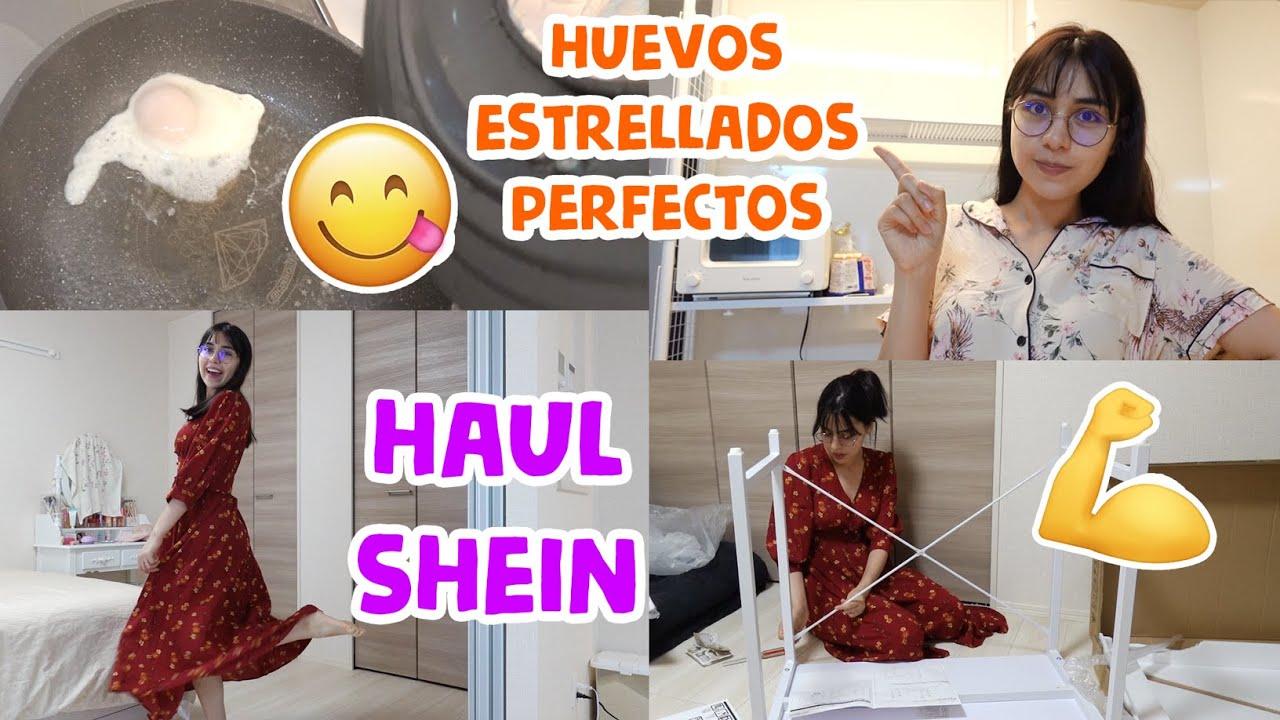 ME DEJÓ SOLA 😪 + HAUL #SHEIN + Llegó mi escritorio 💕 | Juli