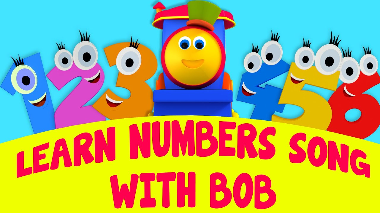 bob the train learn numbers song with bob song adventure with numbers ride bob the train. Black Bedroom Furniture Sets. Home Design Ideas