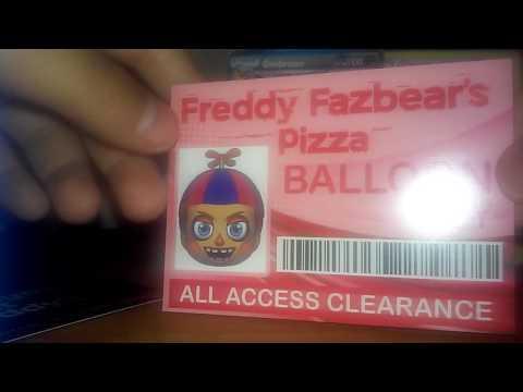 Fnaf trading card game!