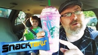 Snacktaku Drinks Starbucks Unicorn Frappuccino