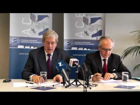 ACEA Press Conference with Philippe Varin