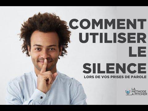 Qu'apporte le silence dans vos prises de parole ?