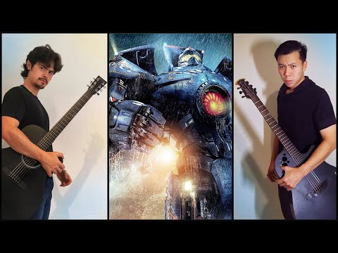 """Main Theme"" Pacific Rim - Acoustic Guitar Duo Cover"