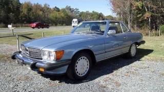 1987 Mercedes-Benz 560SL Start Up, Engine, and In Depth Tour
