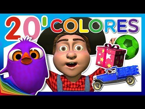Aprende los Colores en La Granja de Zenón   Juegos Educativos para Niños   A Jugar