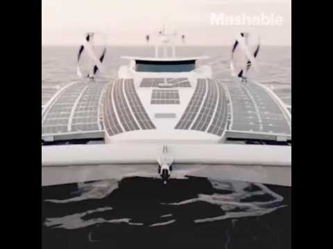 The first hydrogen vessel around the world