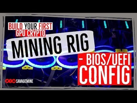 ⌨ Accessing And Configuring BIOS/UEFI For Crypto Mining ⛏