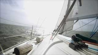 Sailing Galveston Bay 2015