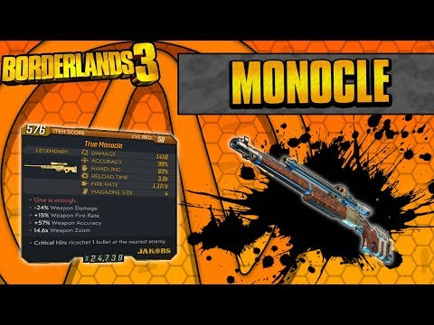 Borderlands 3   Monocle Legendary Weapon Guide (Extreme Critical Hits!)