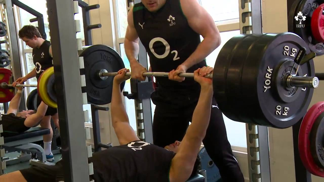 Irish Rugby Tv In The Gym With Quinny And The Ireland Team