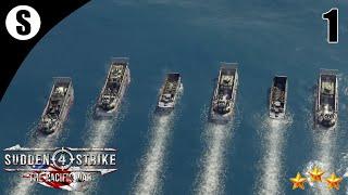 Прохождение Sudden Strike 4 - The Pacific War [США] ( Битва за Гуадалканал ) #1