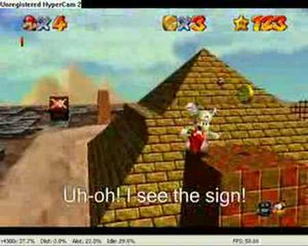 Tomato3456's Super Mario 64 Bloopers Episode 3 - Episode 3: Mario begins to wonder if the world would be better off without him.
