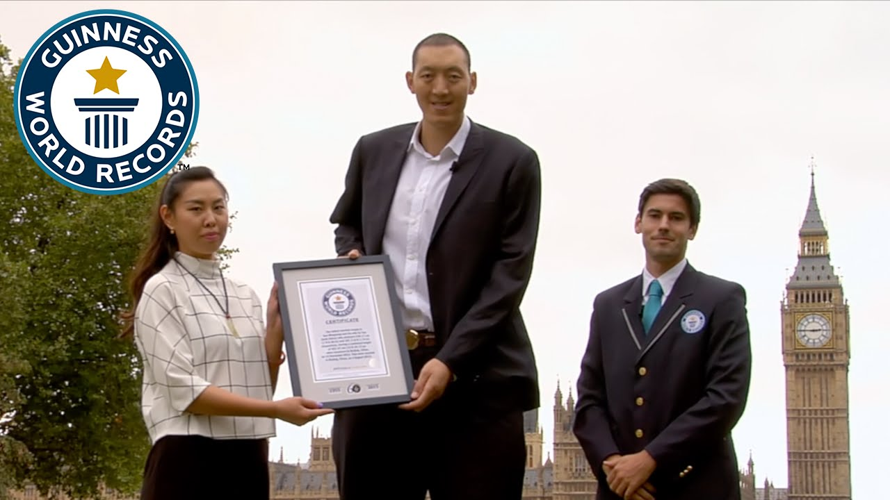 Tallest Married Couple - Guinness World Records