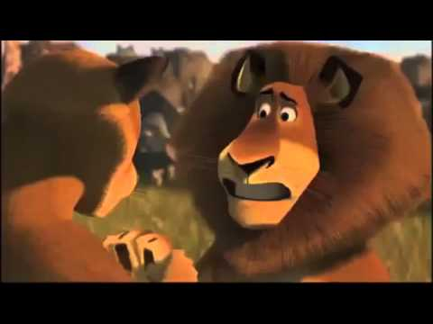 Madagascar 2 Alex Reunites With His Parents Reversed Youtube