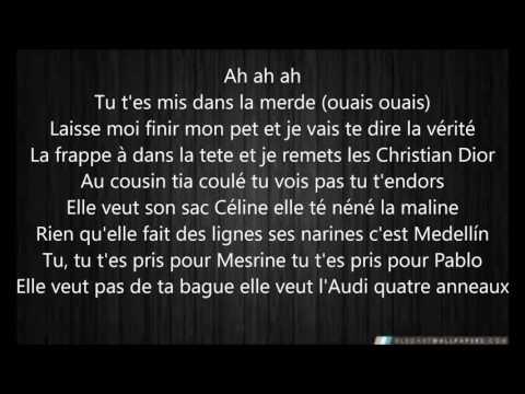 L'Algerino-Les Menottes( Tching Tchang Tchong ) Paroles-lyrics
