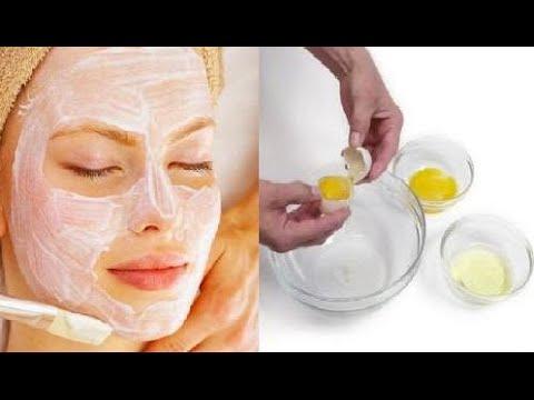 ventajas de la clara de huevo en el rostro