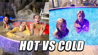 Hot vs Cold pool Team Challenge!