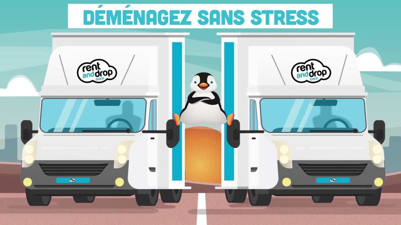 Demenagement Pas Cher Rent And Drop N 1 De La Location Utilitaire En Aller Simple Youtube