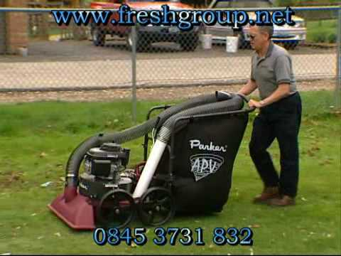 Garden Lawn Leaf Vacuum Collector Youtube