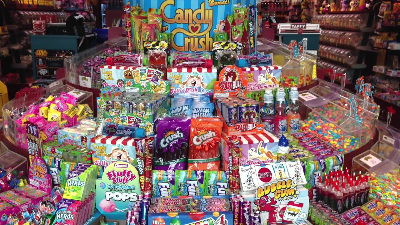 How To Make Candy Fuzziwig S Candy Factory Amp Sweets From Heaven Youtube