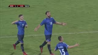 Kosovë-Letoni 4-3 [Golat]