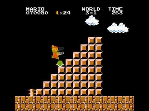 Original Super Mario Bros - Infinite Lives - Turtle Tipping