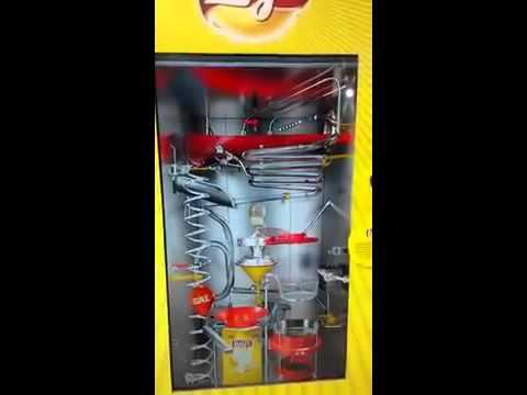 Machine is installed in Pepsico MAKE IN INDIA stall in Mumbai,u drop one potato n see wht happens!