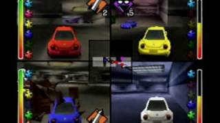 Beetle Adventure Racing N64 - 4-Player Multiplayer Battle
