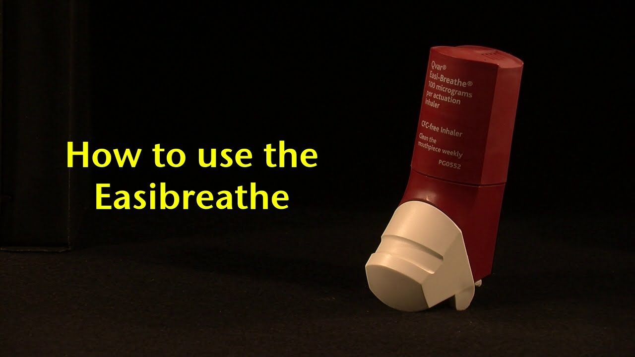 How to use the Easi-Breathe - YouTube