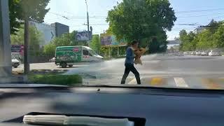 Бесплатная автомойка в Бишкеке