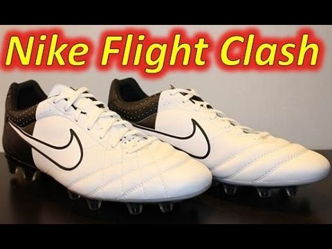 Cámara Muslo insondable  Nike Tiempo Flight White/White/Black (Euro 2012 Clash Collection) -  UNBOXING - YouTube