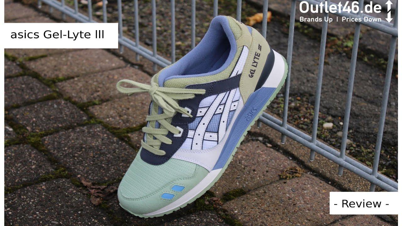 asics Gel Lyte lll Sneaker zum Bestpreis DEUTSCH Review l On Feet l Unboxing l Haul l Outlet46