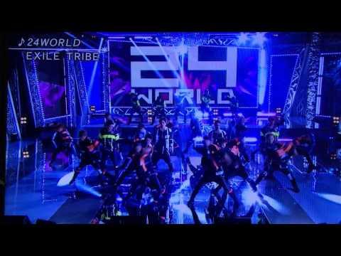 FNS歌謡祭 EXILETRIBE 24world
