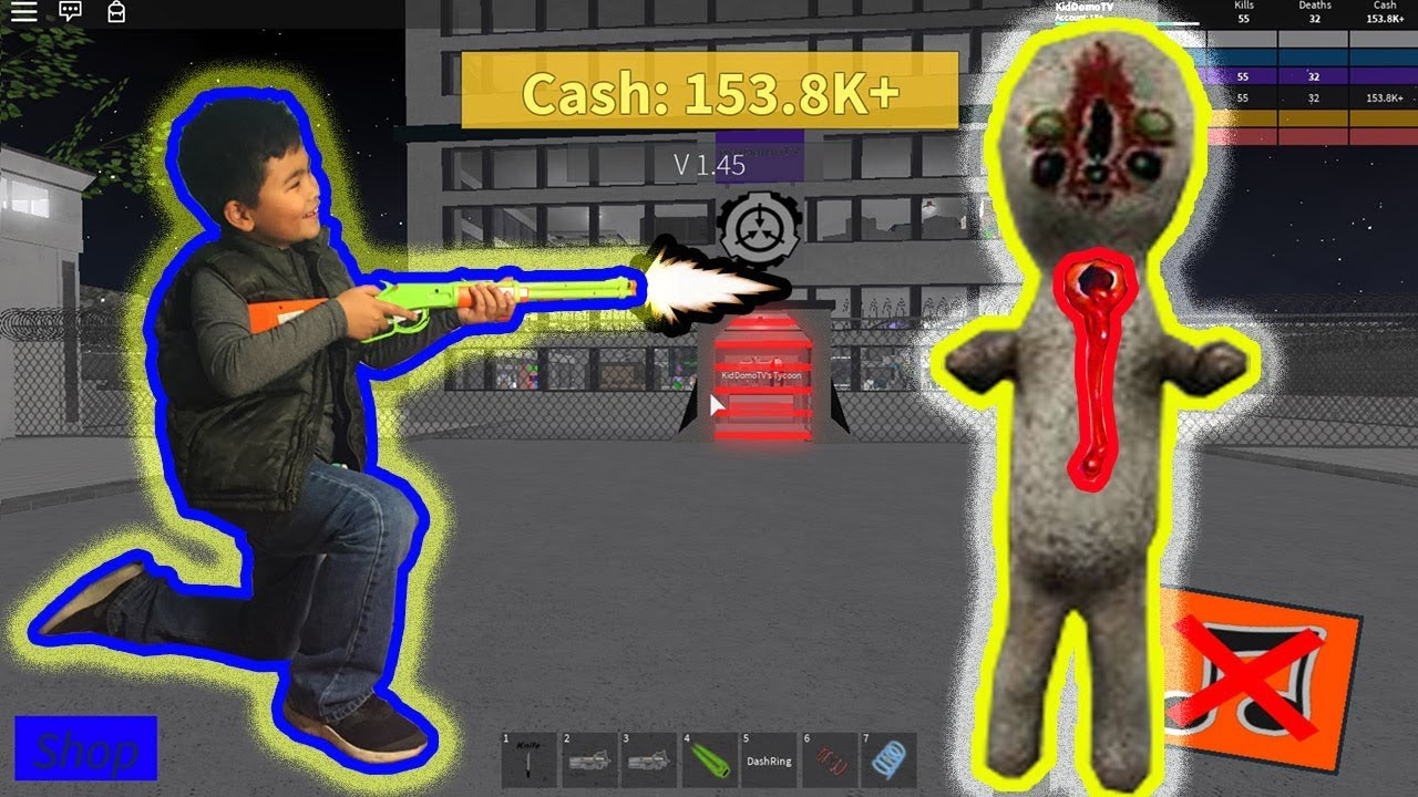 Scp Tycoon See What Happens When Scp S Attack Roblox Youtube