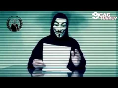 Anonymous Türkiye Tehditi/Komik Edit/DJ Dikkat/