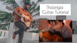 Thooriga| Guitar Cover and Tutorial | Guitar kambi mele nindru | Gvm | Navarasa | karthik | Tamil