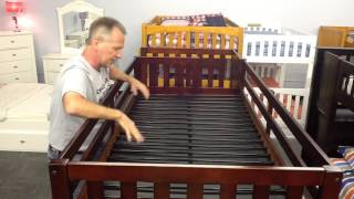 Undercover Kids Slat Cover Install for Metal Slat Bunk Beds and Loft Beds