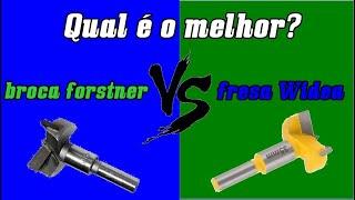 DIY#Fresa Widea X Broca forstner